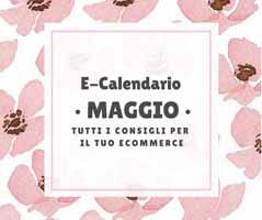 E-Calendario: i consigli per Maggio