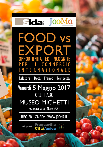 food vs Export 2017